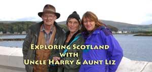 Touring around Scotland